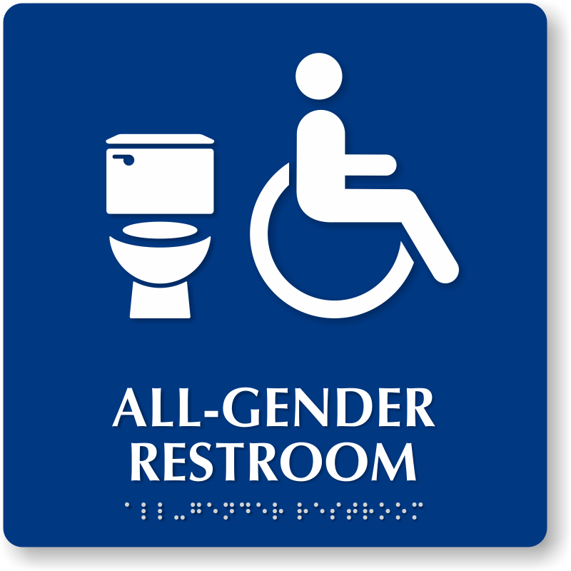 the web  gender neutral bathrooms,