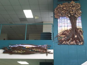 Tree Mural: Leaf it to the art department