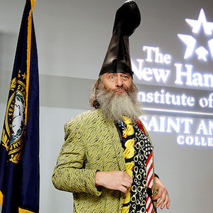 Vermin Supreme runs for president