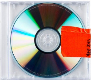 Album art for Kanye West's new album, Yeezus.