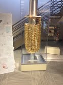 Golden Corn- symbol of GMOs at the Dupont center in Johnston
