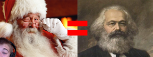 Which is Santa, which is Karl Marx? The answer may surprise you.