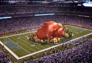 Football is taking over Thanksgiving