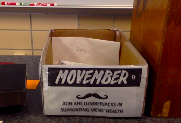 Movember raises awareness for men's health