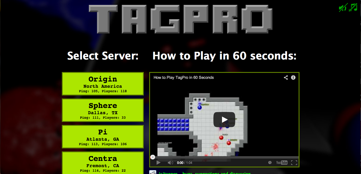 Play Capture The Flag Online at TagPro