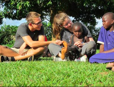 Uganda Trip Seniors Making a Stand
