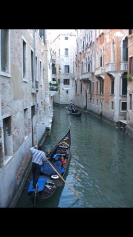 This was taken in Venice, Italy. Culture differs everywhere.