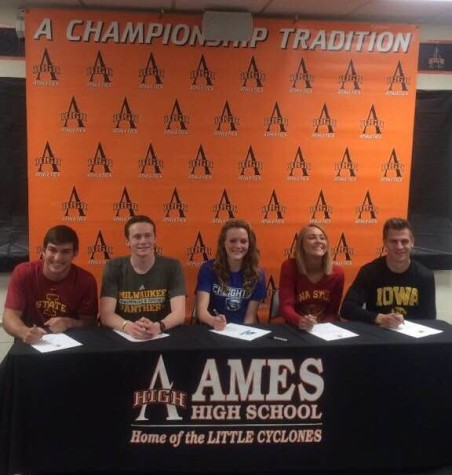 Student-Athletes Sign for the Future