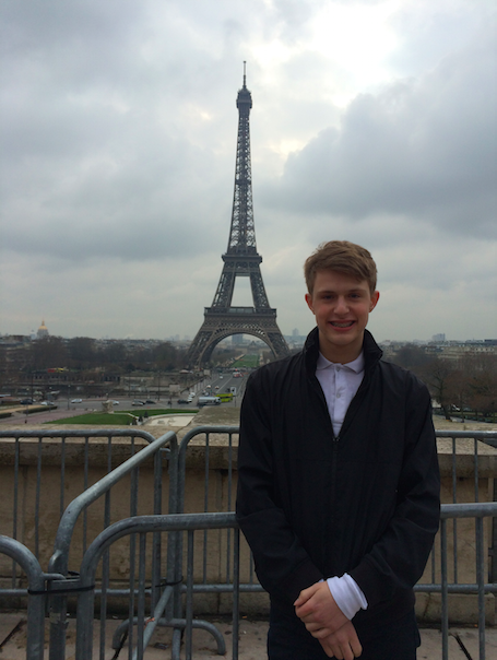 Students travel to France