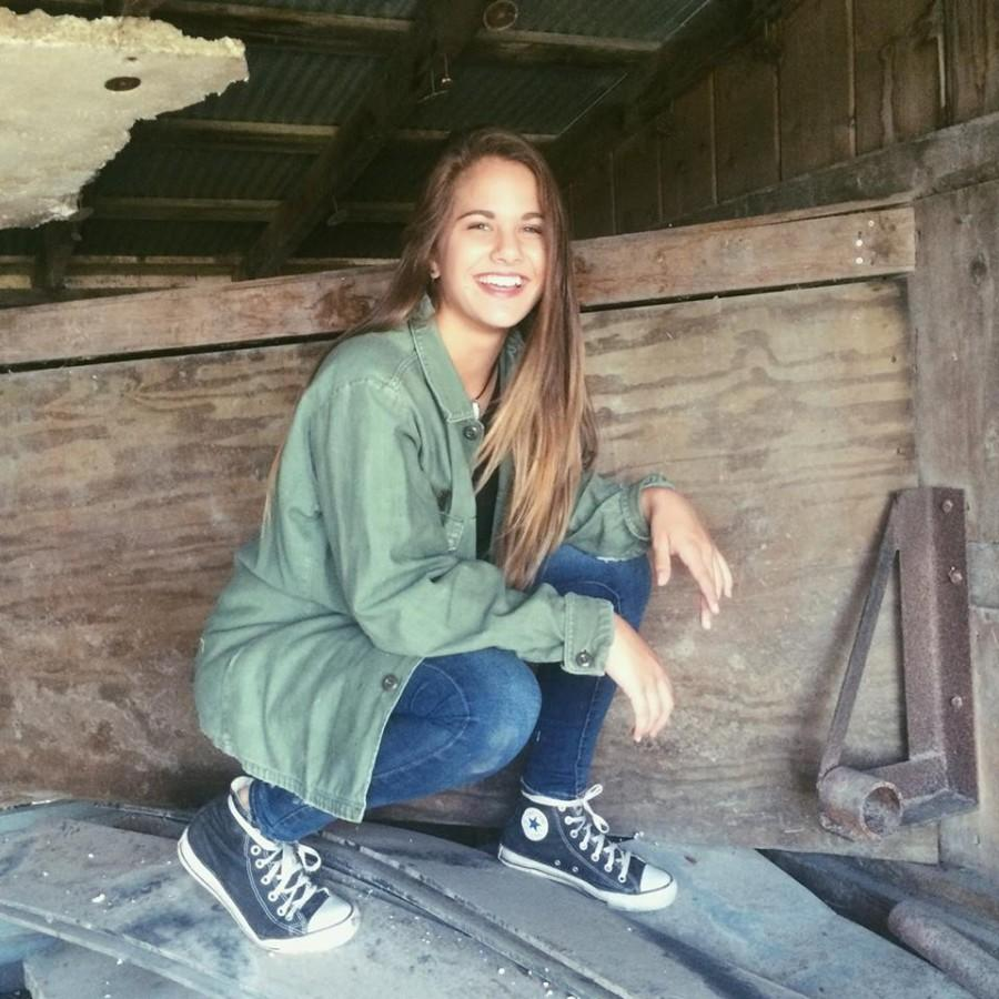 Rebekah Wilson is a hard to miss sophomore