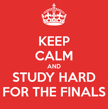 Finals: end of the semester or end of our lives?