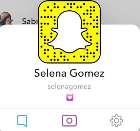 Snapchat code of Selena Gomez