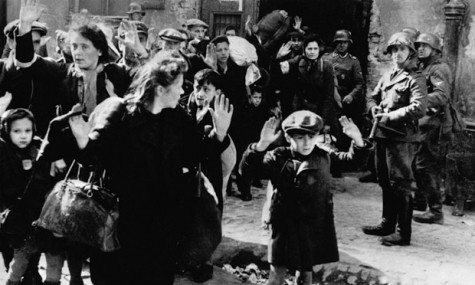 Nazis arresting Jews