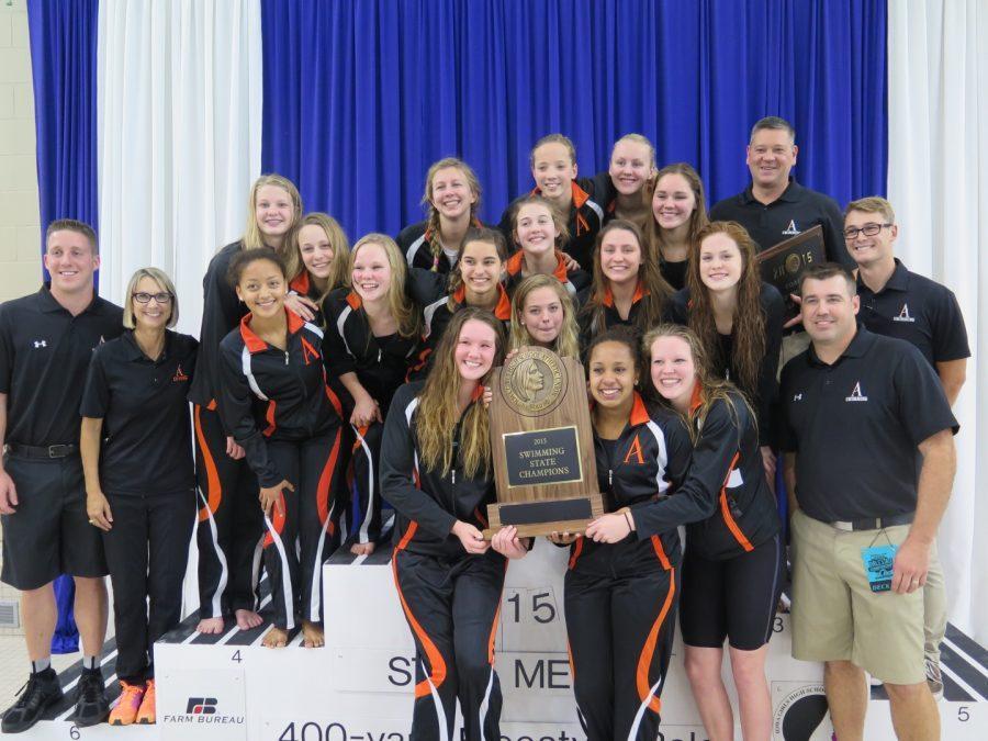 The Amazing Girls Swim Team