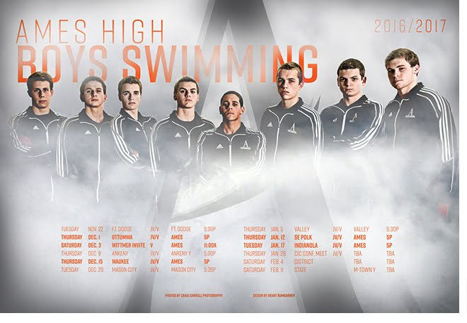 Ames High Boys Swimming: Best In Years