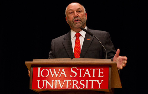 Iowa State University's President Leath Resigns