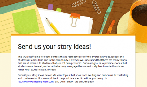 Send us your story ideas!