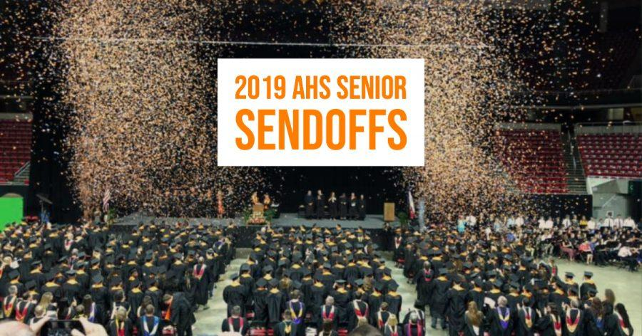 2019 AHS Senior Sendoffs