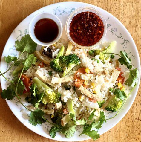 18c on the vegetarian menu, Credit: Varun Prasanna