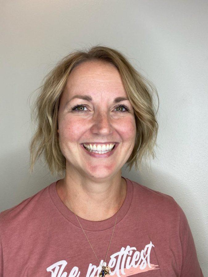 Ms. Gustfason, the schools latest resource plus Special Ed teacher.